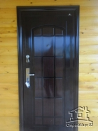 металлическая дверь в баню