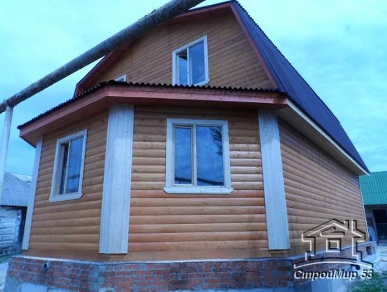 дом с эркером