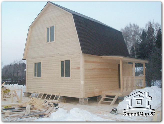 Фоторепортаж строительства дома