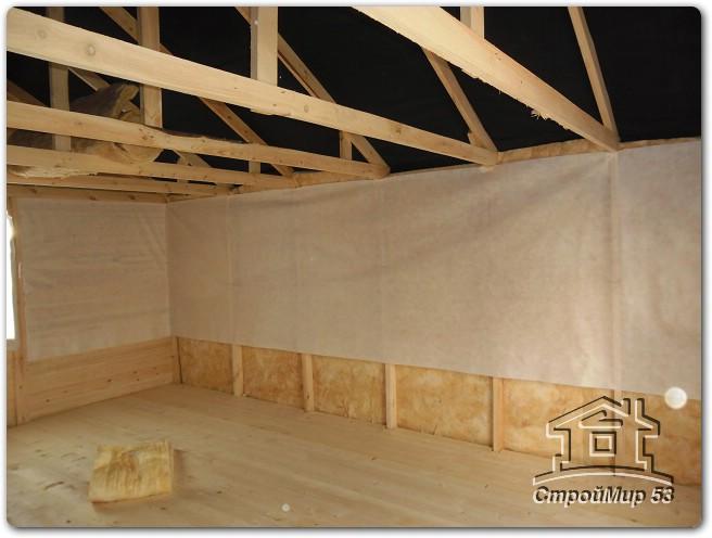 Гостевой дом-баня, проект гостевого дома-бани