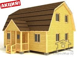 фото строительство дома 9х7