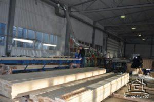 Производство и доставка материала