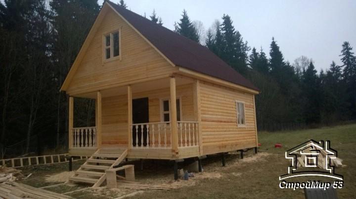 дом с террасой