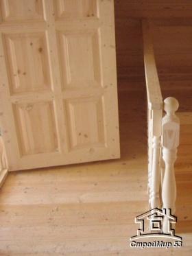 фото дома 9х7 внутренняя отделка