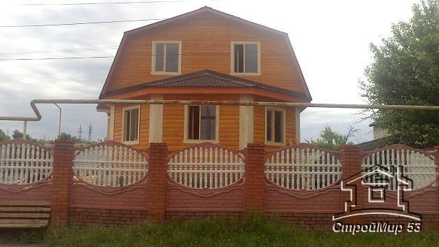 Строительство дома с эркером