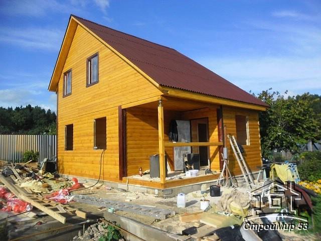 Строительство дома в Пушкино