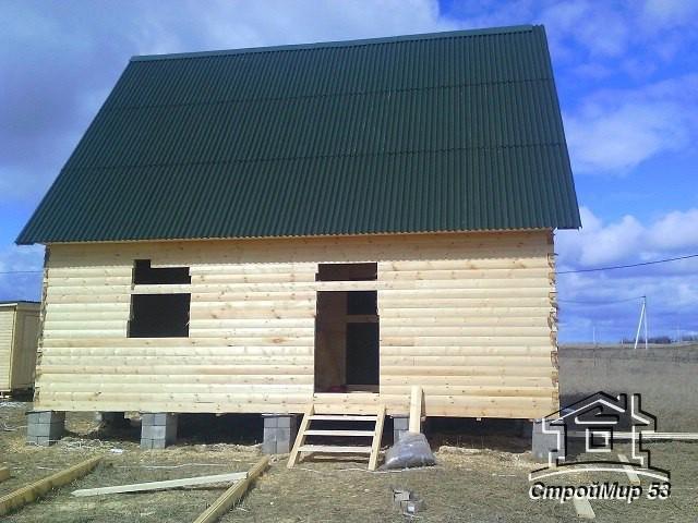 Дом из бруса в Калужской области