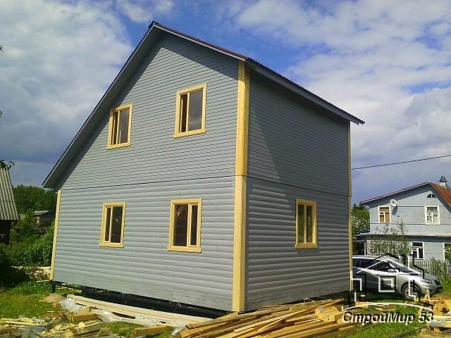 Строительство дома в Кировском районе
