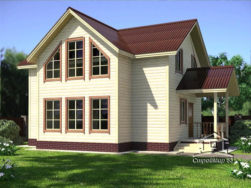 Проекты домов на 2 семьи