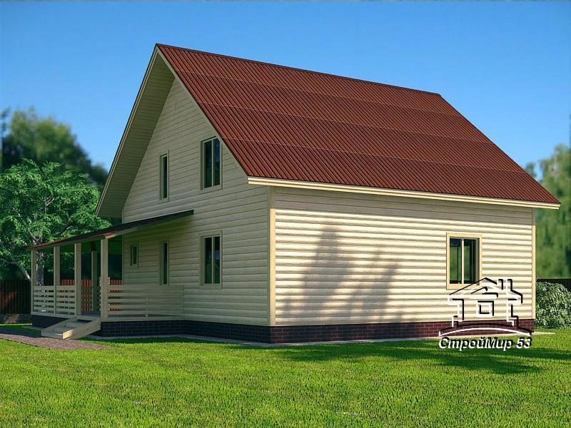 3д проект дома