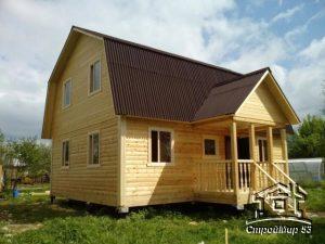 дом из бруса в Подольске фото