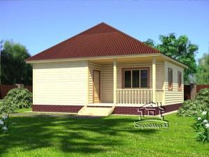 Дом с вальмовой крышей (Д-17)