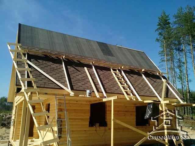 строим дом без отделки в Карелии