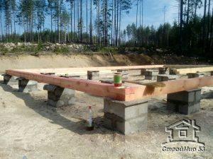 Строительство бани в Карелии