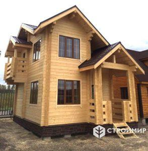 выставочный дом из бруса