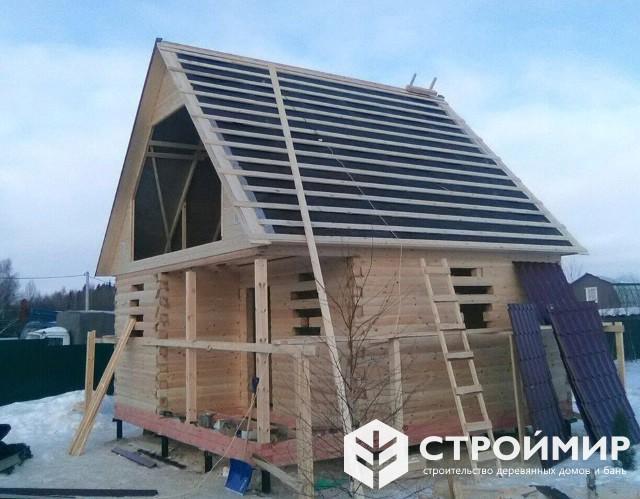 Деревянный дачный домик