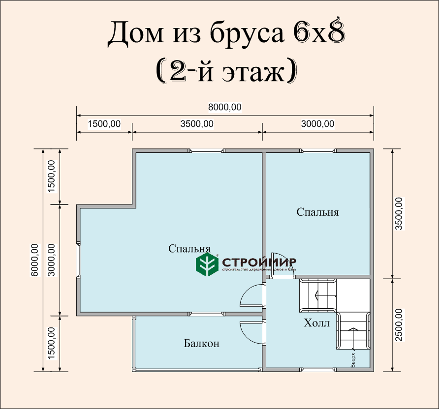 Дом в полтора этажа (проект Д-80)