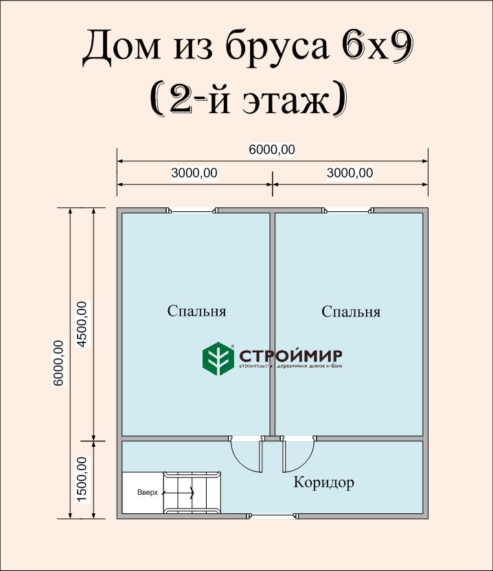 Дом 6х9 под ключ (проект Д-82)