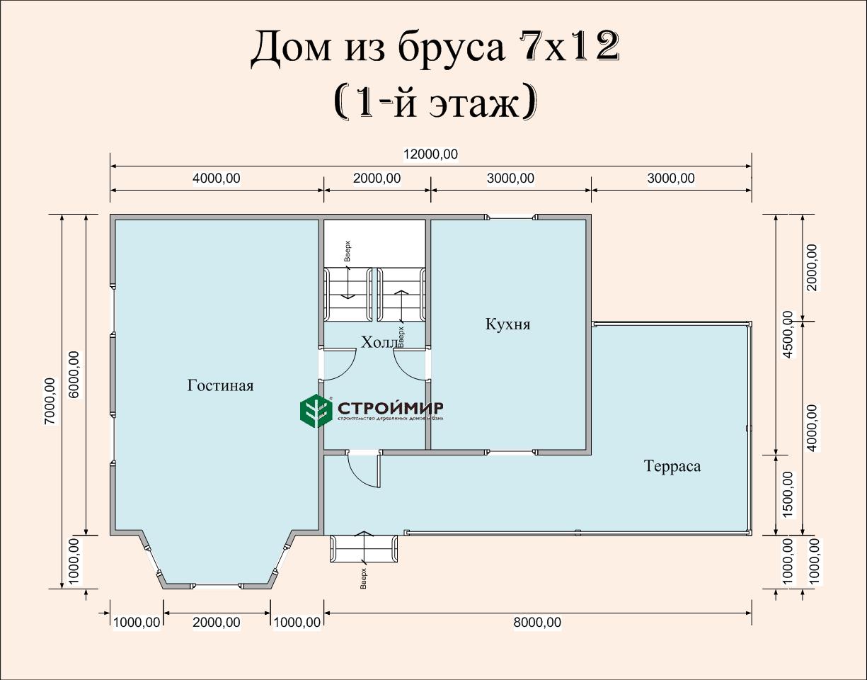 Дом 7х12 (проект Д-96)