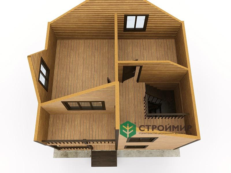 Каркасный дом 6х7, проект К-14
