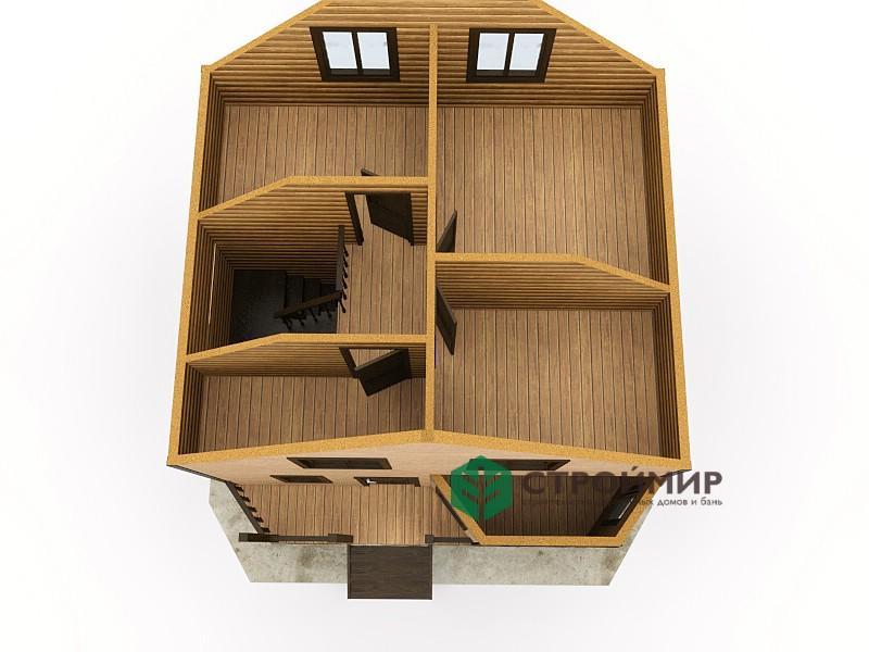 Каркасный дом 7х7, проект К-27