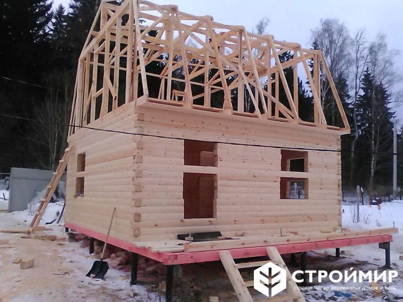 Дом из бруса в Солнечногорском районе