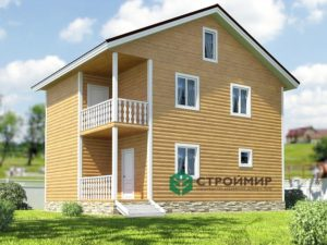 Каркасный дом 7х9, проект К-36