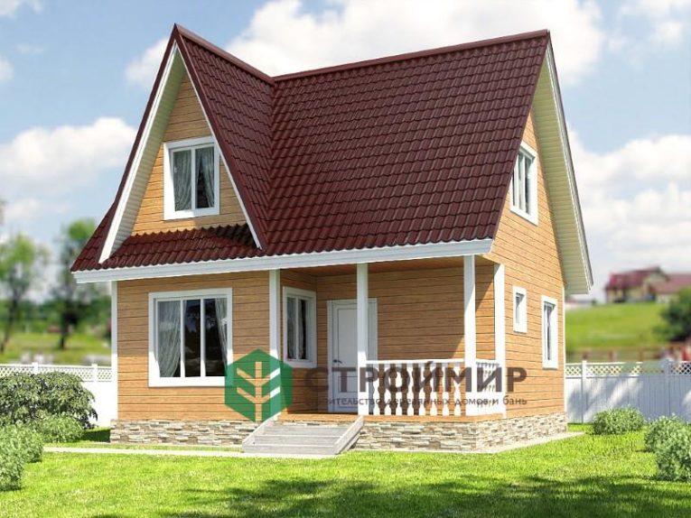 Каркасный дом 6х7, проект К-42