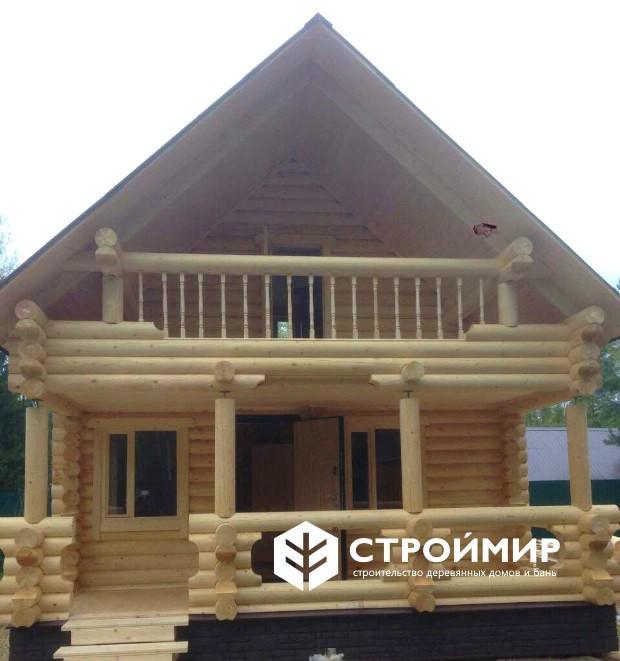 Проекты домов из профилированного бруса  фото и цены