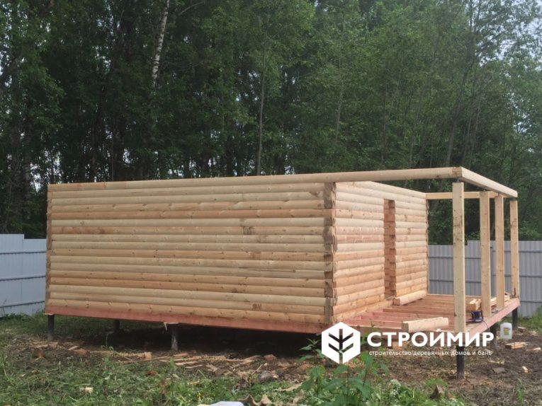 Строительство бани в деревне