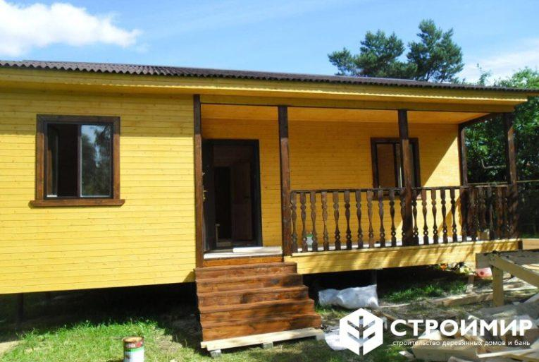 Каркасный дом в Тверской области