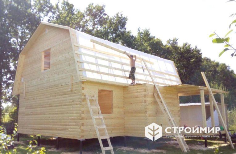 Дом из бруса в Заокском районе