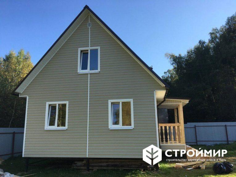 Каркасный дом в Волоколамске