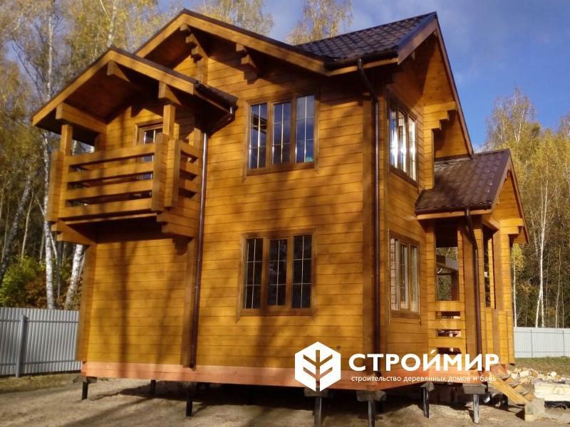 Дом из бруса в городе Жуков