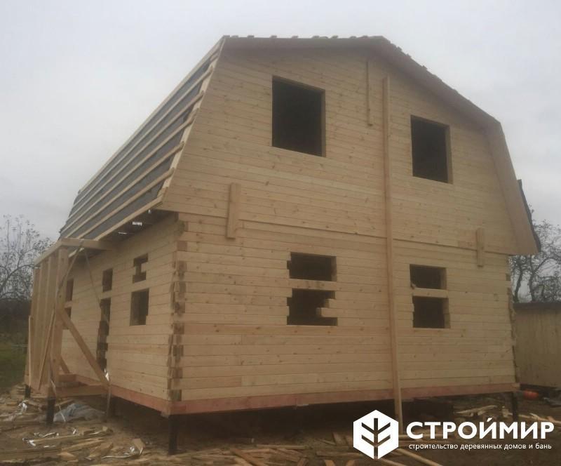 Строительство дома в ноябре