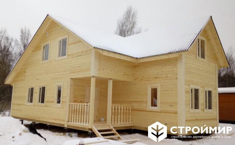 Дом из бруса в Наро-Фоминске