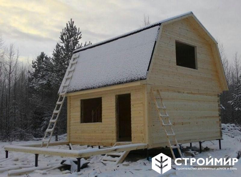 Дом из бруса во Всеволожском районе
