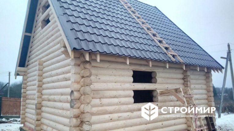Строительство бани в Ферзиково