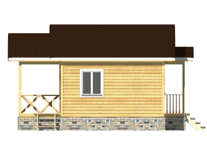 Каркасный дом в Лужском районе