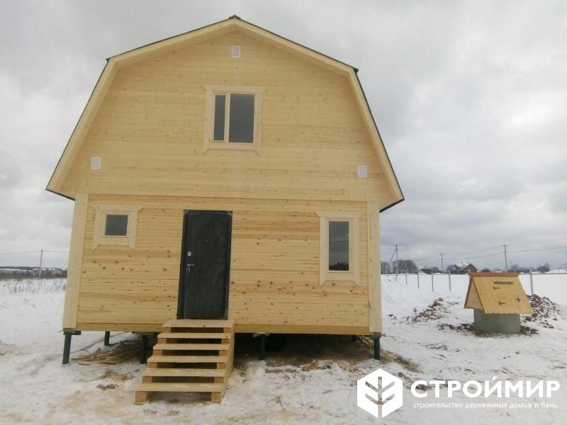 Дом из бруса в Истринском районе