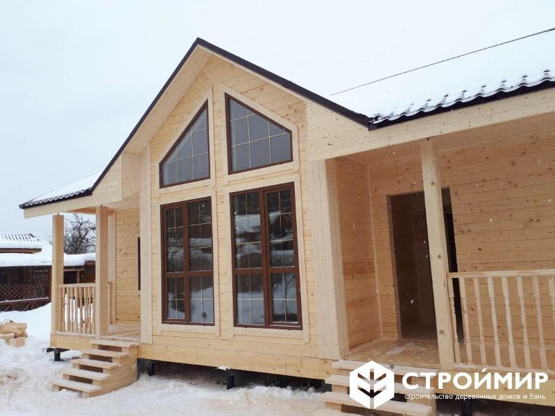 Одноэтажный дом 8х11