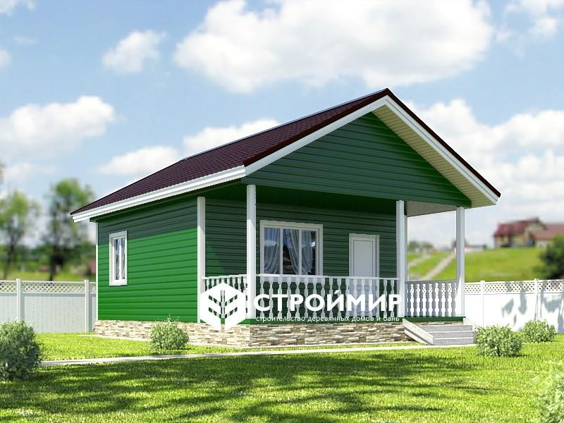 зеленый дом
