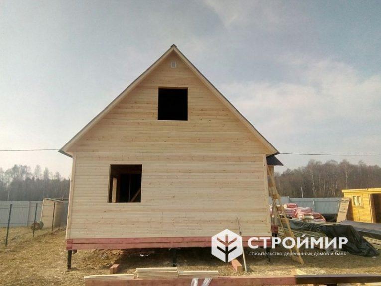 Каркасный дом в Московской области