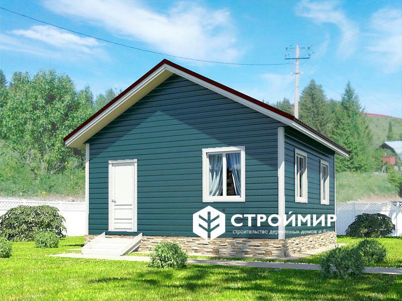 синий дом