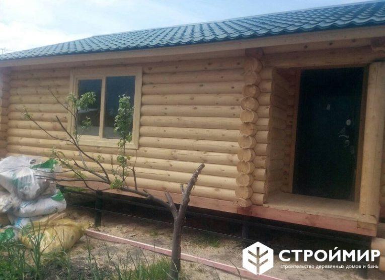 Русская баня на даче