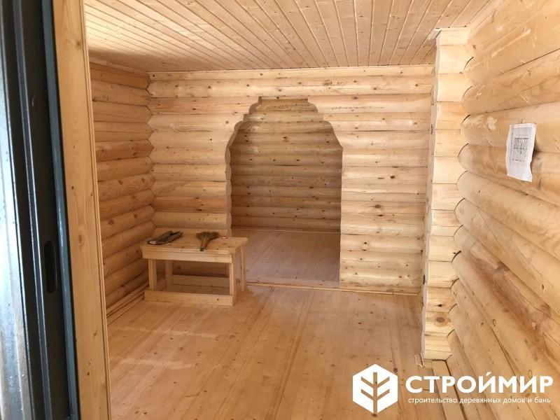 Баня со спальней и хозблоком