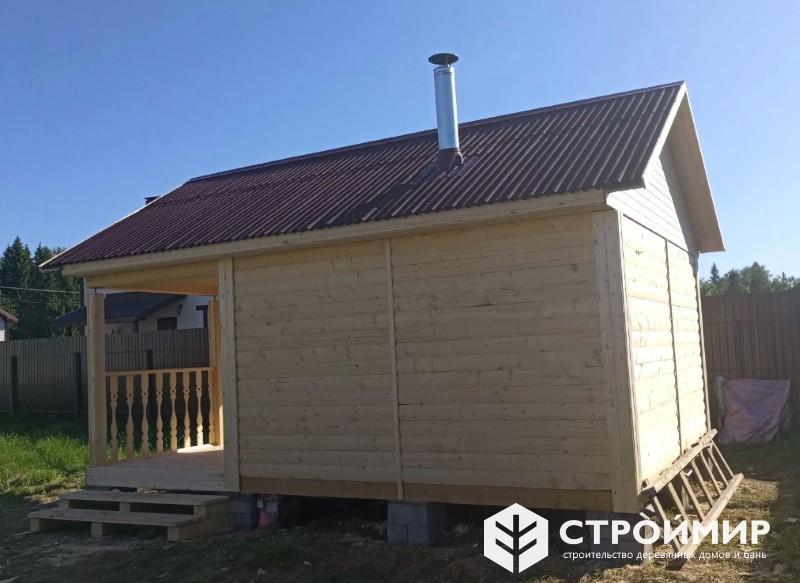 Уютная баня на даче