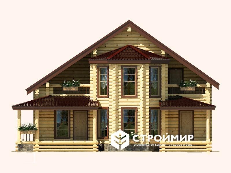 Дом 9х12 из бревна ДБР-11
