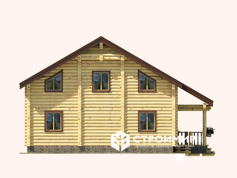Дом 12х14 из бревна ДБР-9
