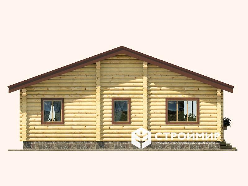 Дом 10х10 из бревна ДБР-5